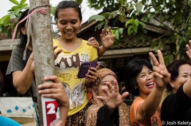 Sukabumi residents react to Jokowi's arrival
